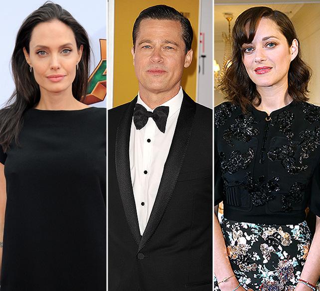 Angelina Jolie, Brad Pitt y Marion Cotillard