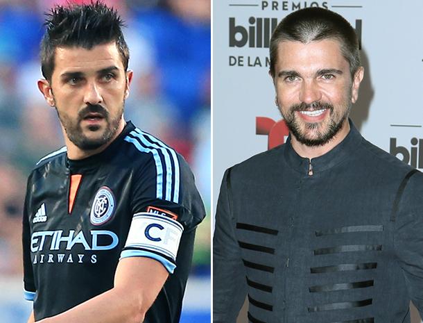 David Villa, Juanes