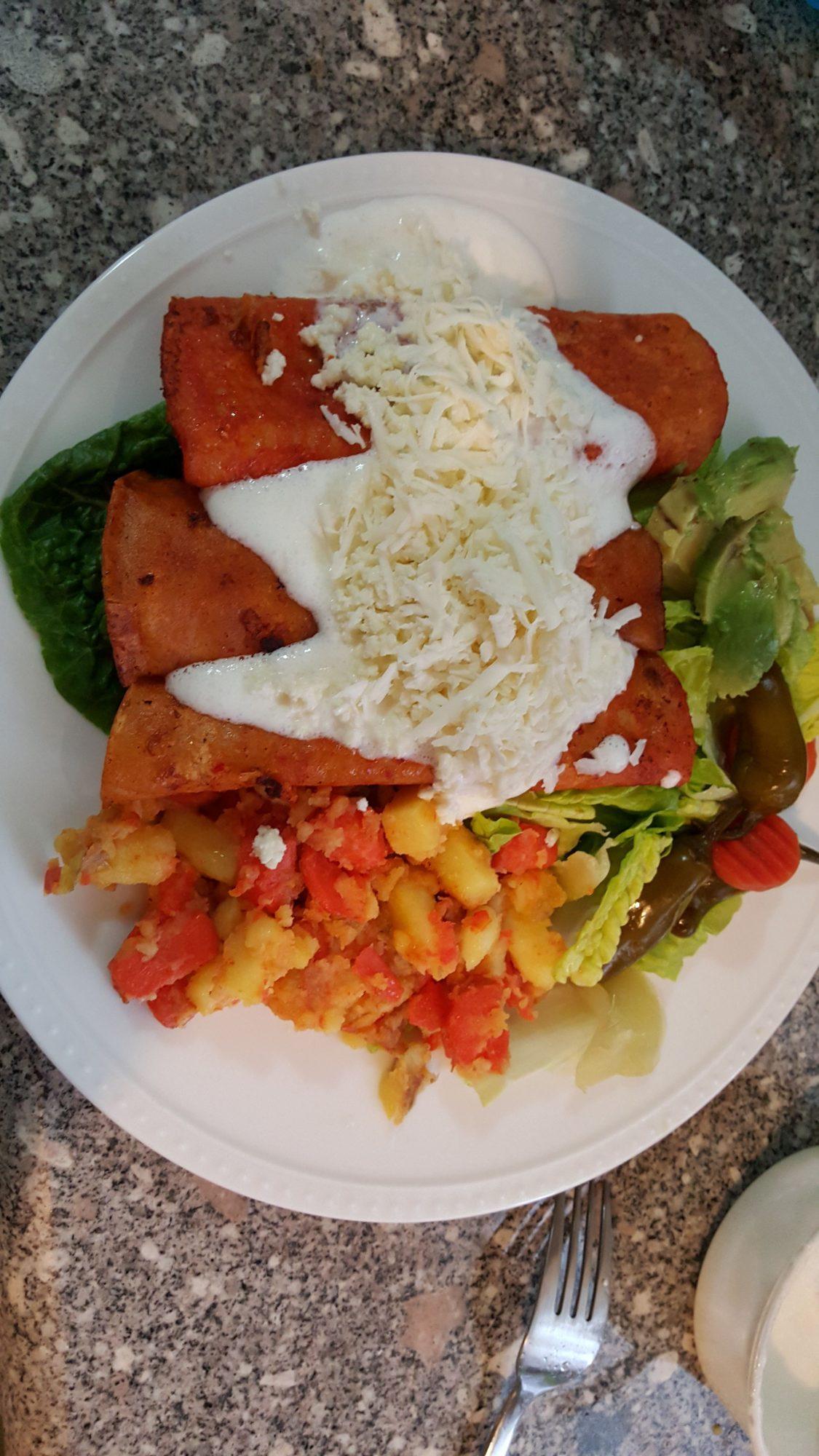 Enchiladas morelianas