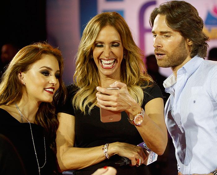 Angelique Boyer, Sebastián Rulli, Lili Estefan