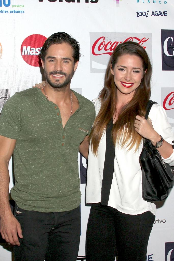 José Ron y Ariadne Díaz