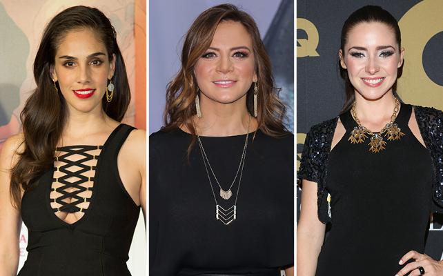 Sandra Echeverría, Silvia Navarro y Ariadne Díaz
