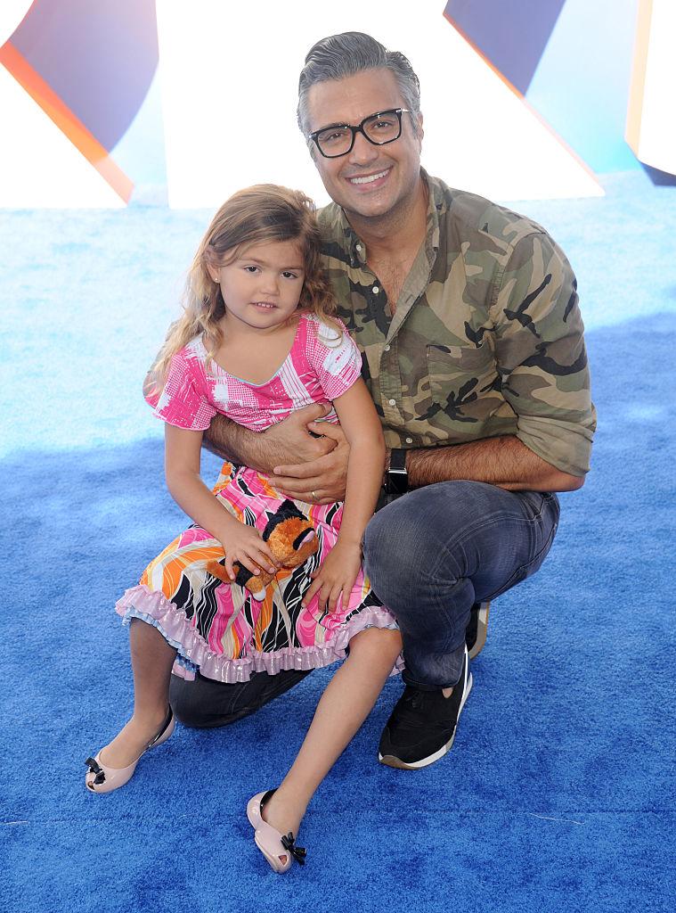 Jaime Camil y su hija Elena