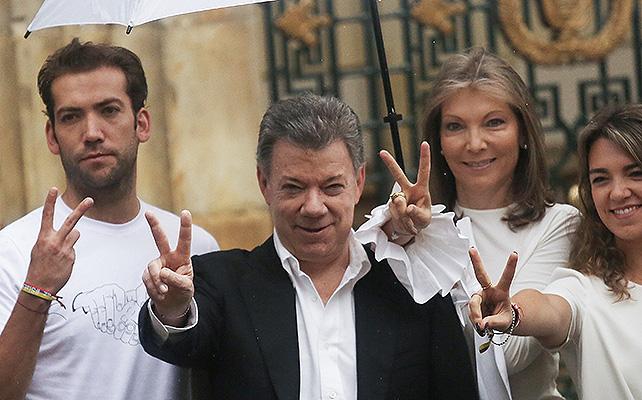 Juan Manuel Santos, María clemencia rodriguez, maria santos,