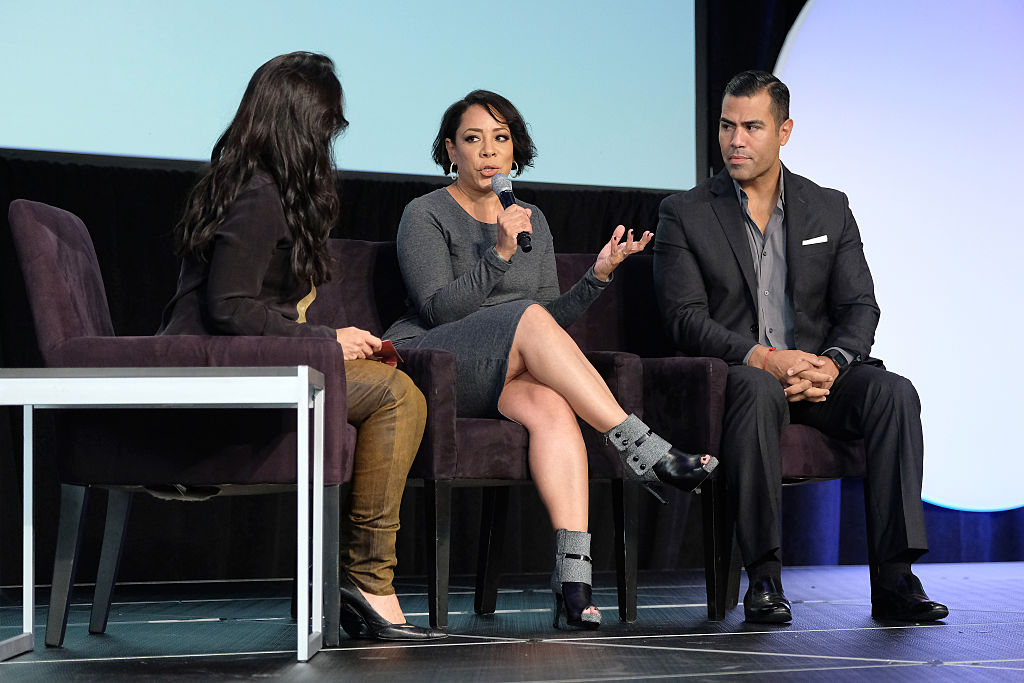 Selenis Leyva and J.W. Cortes