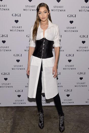 Gigi Hadid, look del día