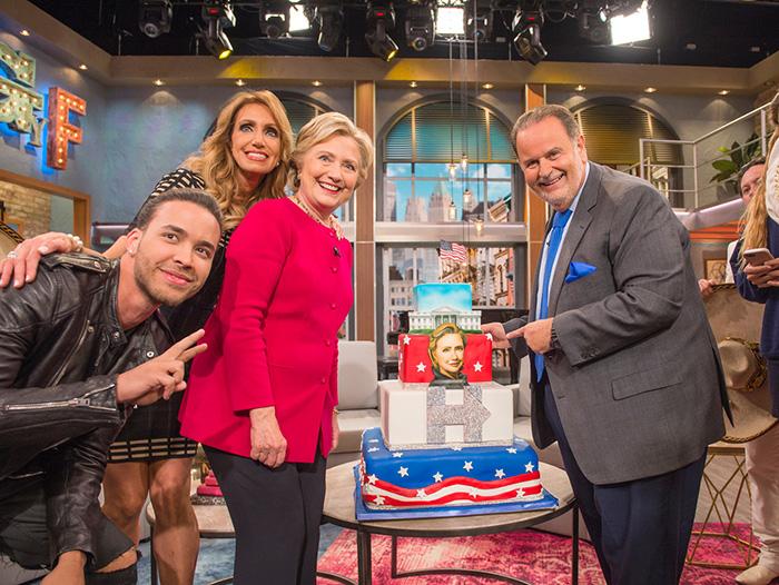 Lili Estefan , Raúl de Molina, Hillary Clinton, Prince Royce