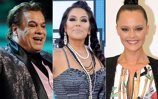 Juan Gabriel, Lila Downs y Shaila Dúrcal