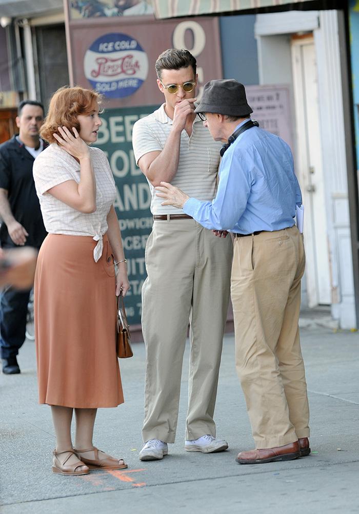Woody Allen, Kate Winslet, ustin Timberlake