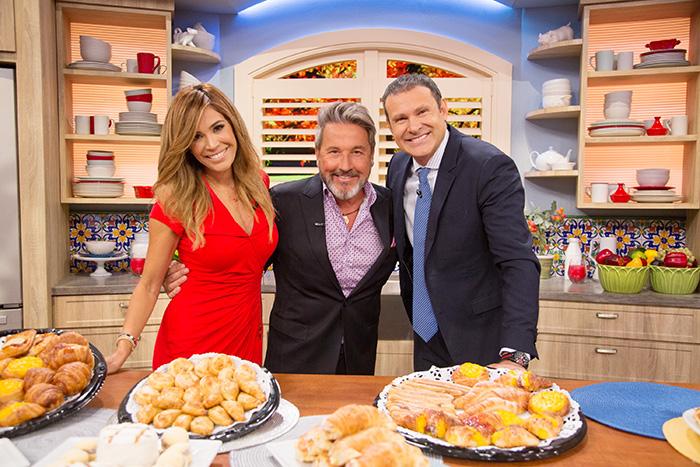 Ricardo Montaner, Karla Martínez, Alan Tacher