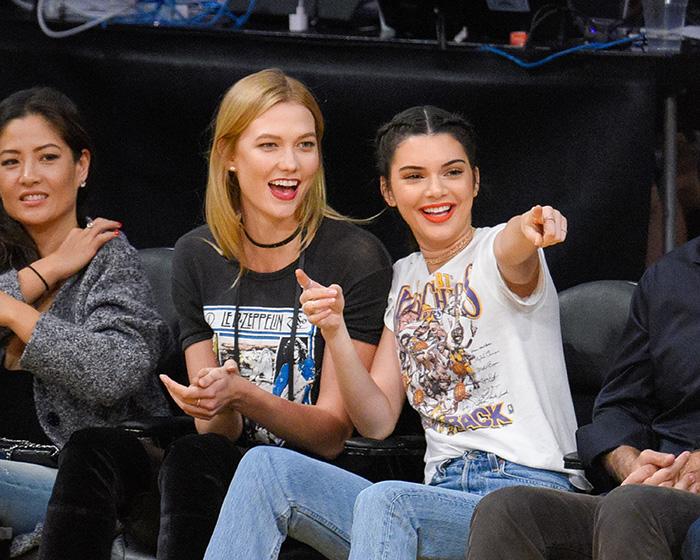 Kendall Jenner, Karlie Kloss