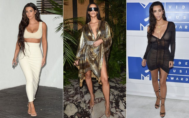Kim Kardashian looks más sexy