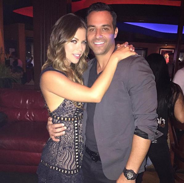 Ximena Duque y su novio Jay Adkins