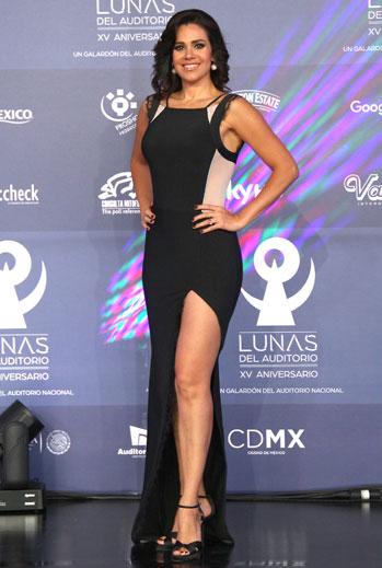 Luz Elena González, el look del día