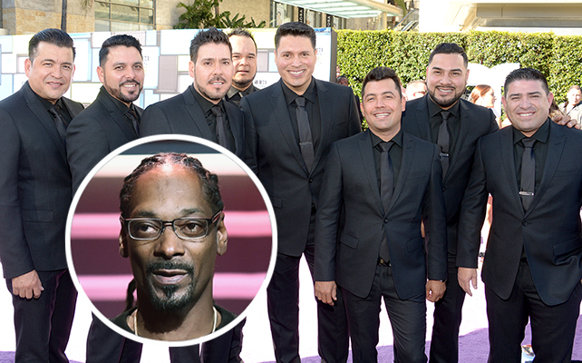 Banda MS y Snoop Dogg