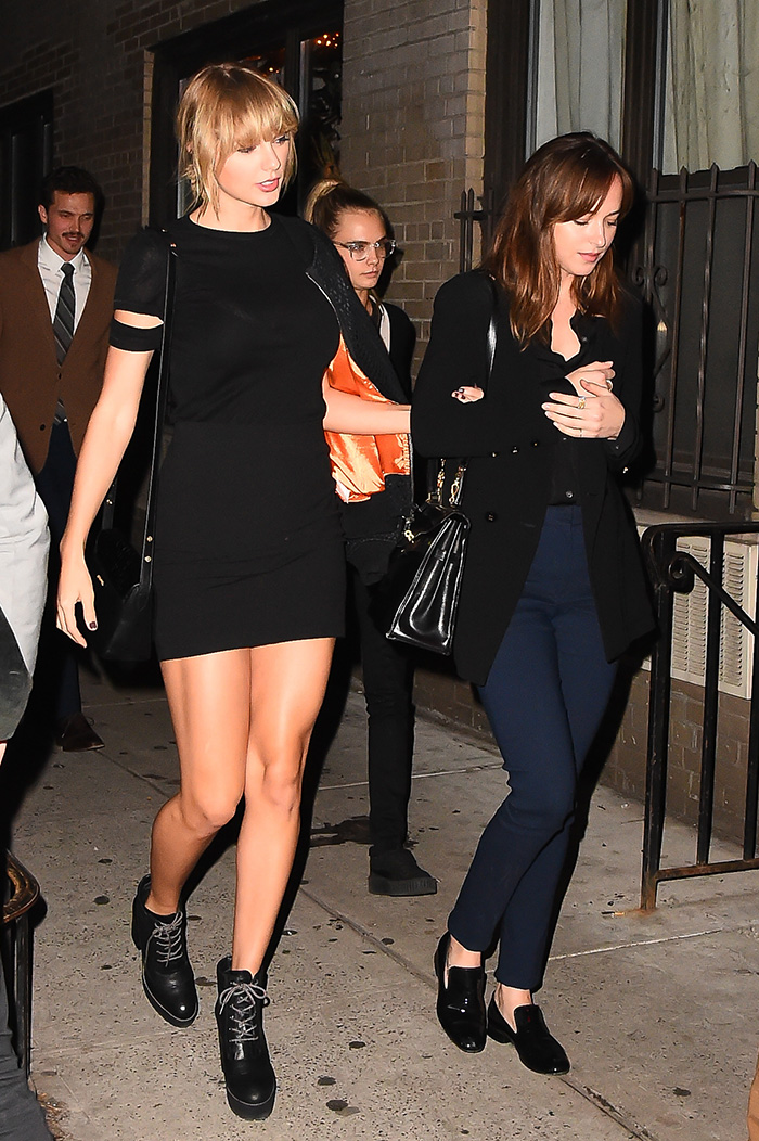 Cara Delevingne, Taylor Swift , Dakota Johnson