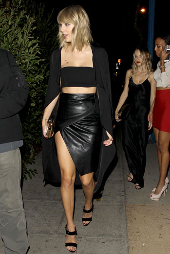 taylor swift, look del día