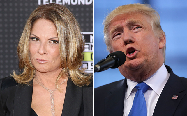 Dr. Ana Maria Polo y Donald Trump