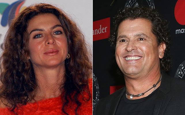 Margarita Rosa de Francisco y Carlos Vives