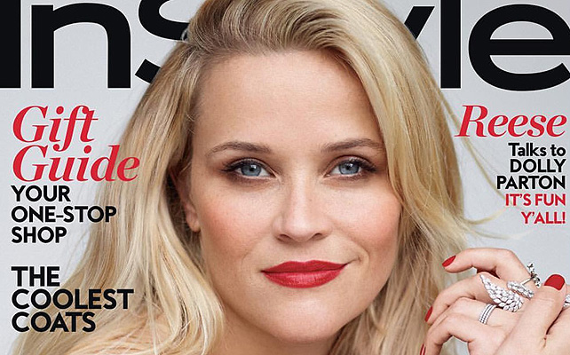 REESE WITHERSPOON EN INSTYLE DECEMBER ISSUE