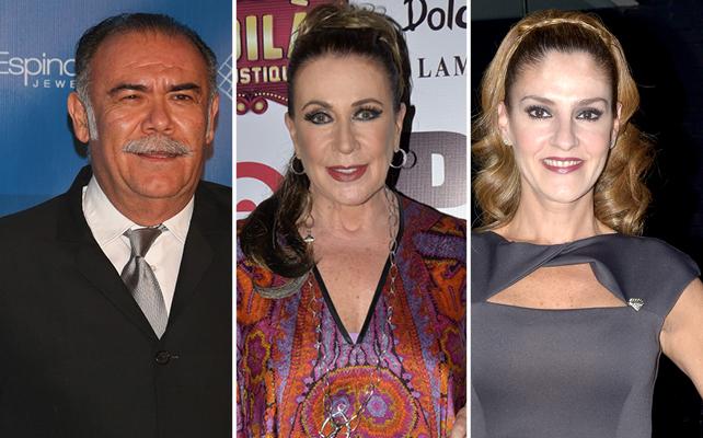 Jesús Ochoa, Laura Zapata y Chantal Andere