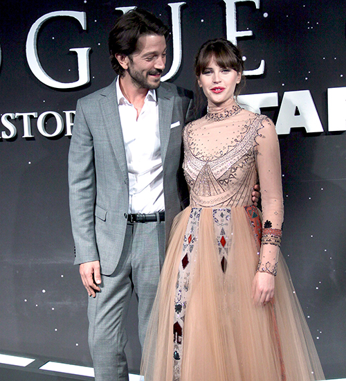 Diego Luna, Felicity Jones