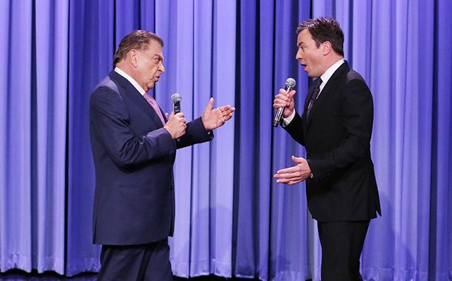 Don Francisco y Jimmy Fallon