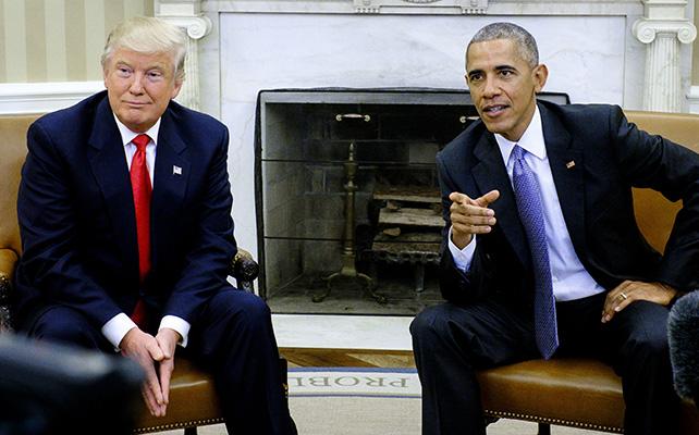 Donald Trump, Barack Obama, Casa Blanca, Presidente