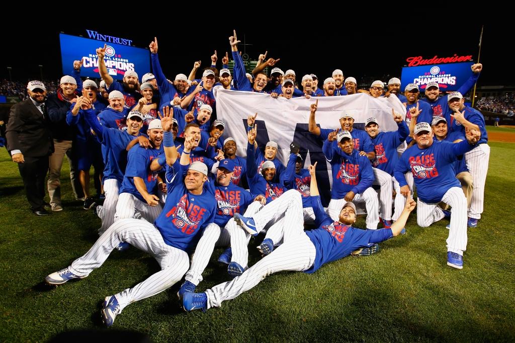 Chicago Cubs celebran su campeonato