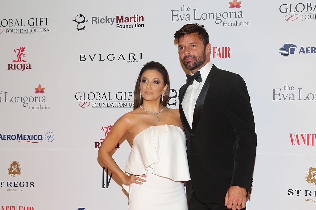 Ricky Martin, Eva Longoria