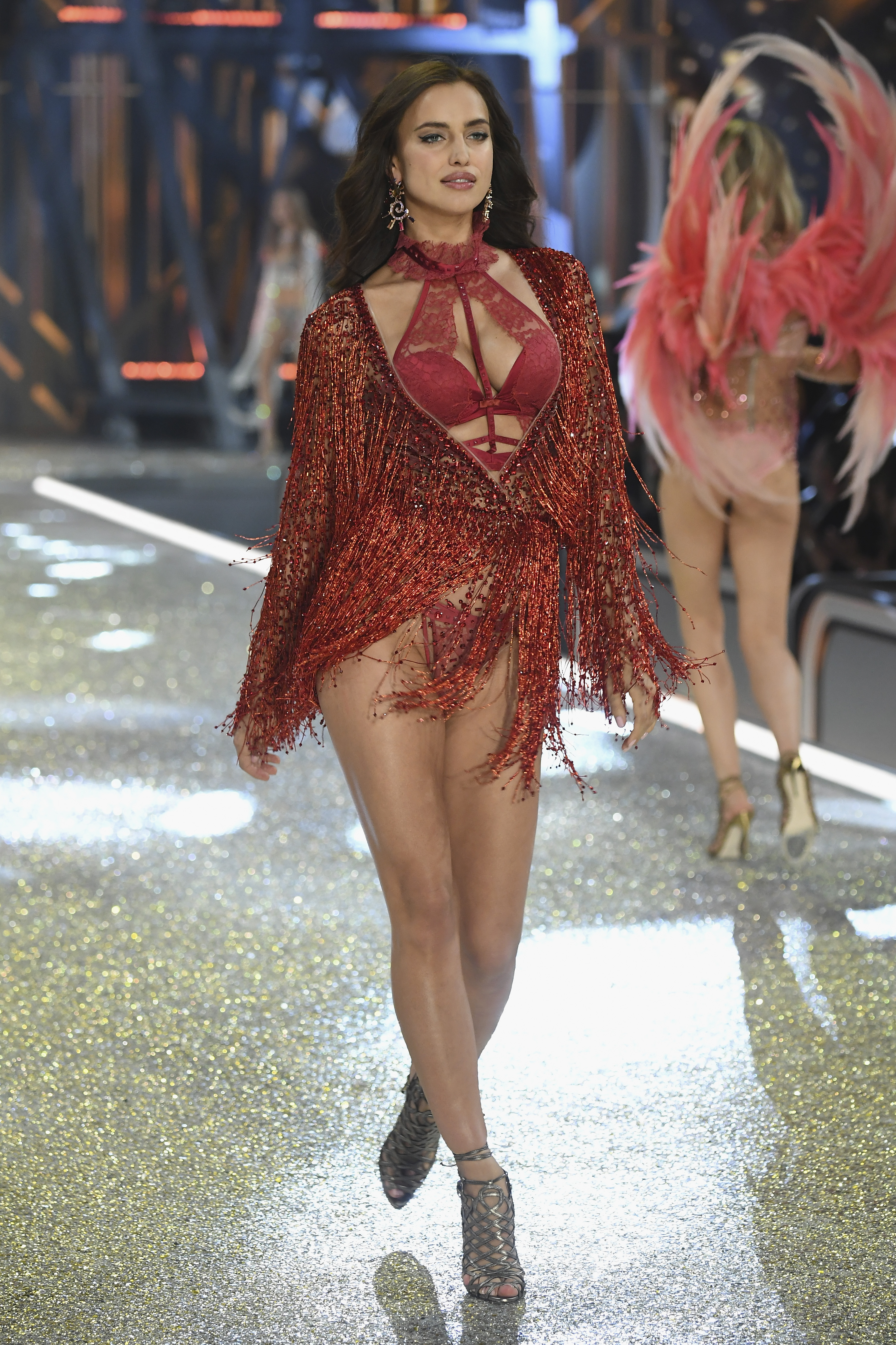 Irina Shayk en el Victoria's Secret Fashion Show