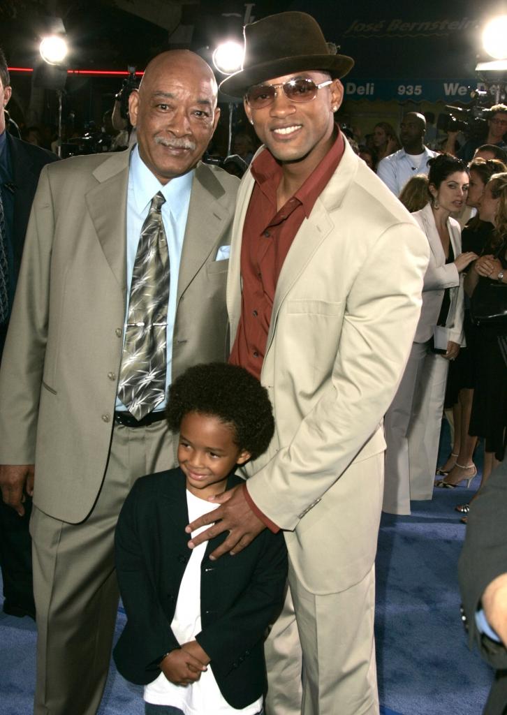 Will Smith y su padre Williard Carroll Smith Jr.