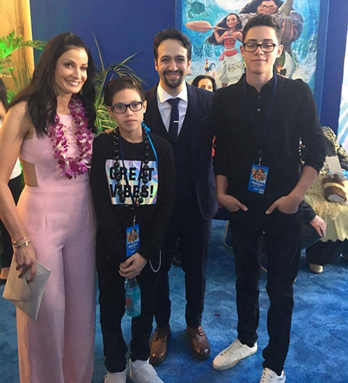 Ryan Adrian Muñiz, Cristian Marcus Muniz, Marc Anthony