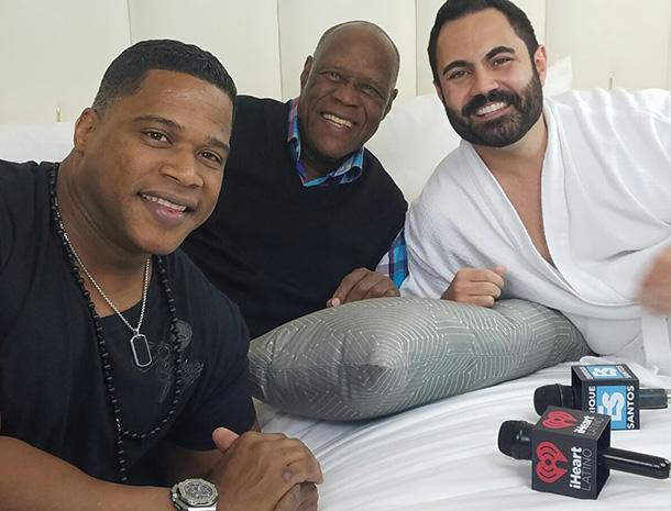Johnny Ventura, Enrique Santos , Jandy Los Potros