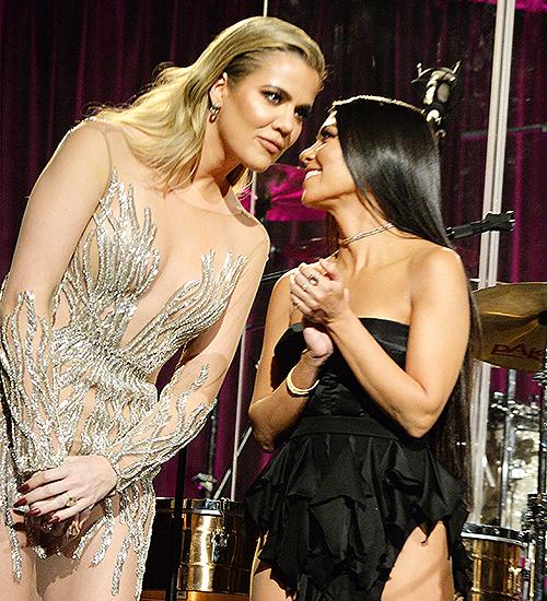 Khloé Kardashian, Kourtney Kardashian