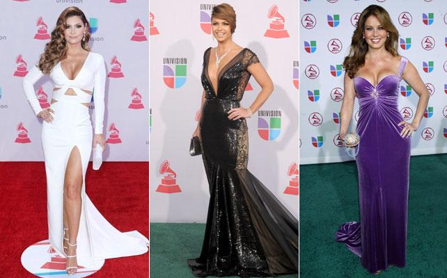Latin Grammy: las mejor vestidas a través de los años