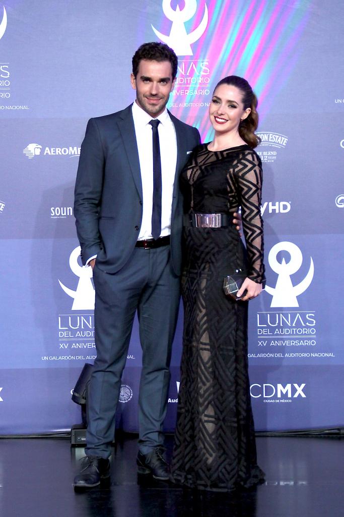 Ariadne Díaz y su novio