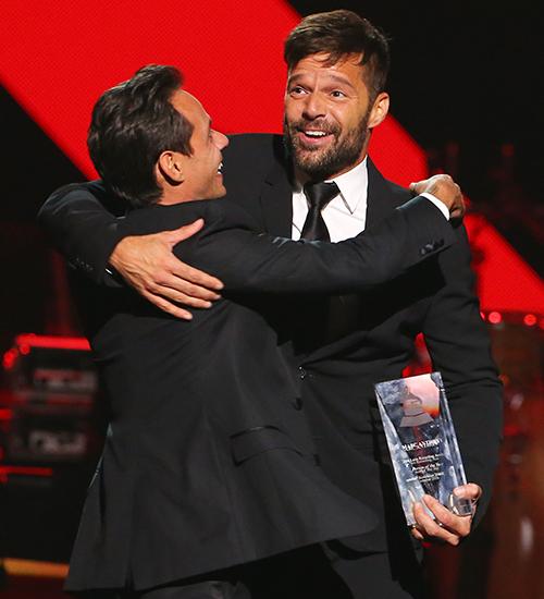 Marc Anthony, Ricky Martin