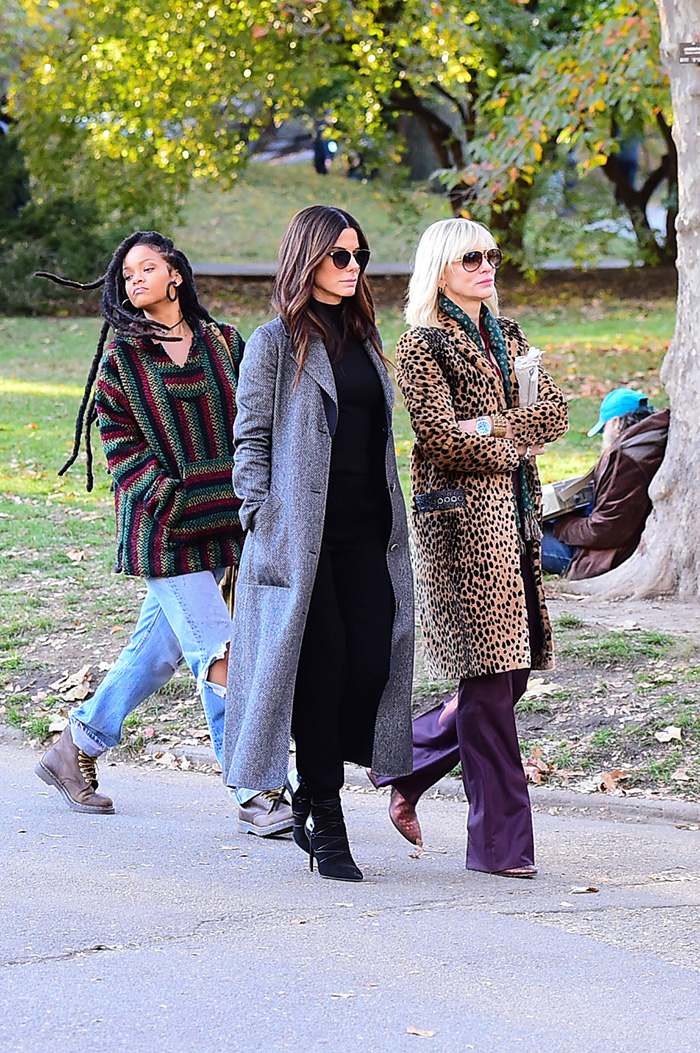 Rihanna, Sandra Bullock , Cate Blanchett