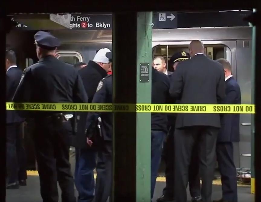 Mujer muere tras ser empujada en el tren de NYC