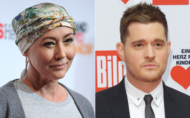 Shannen Doherty y Michael Bublé