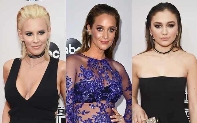 Wet look en los American Music Awards