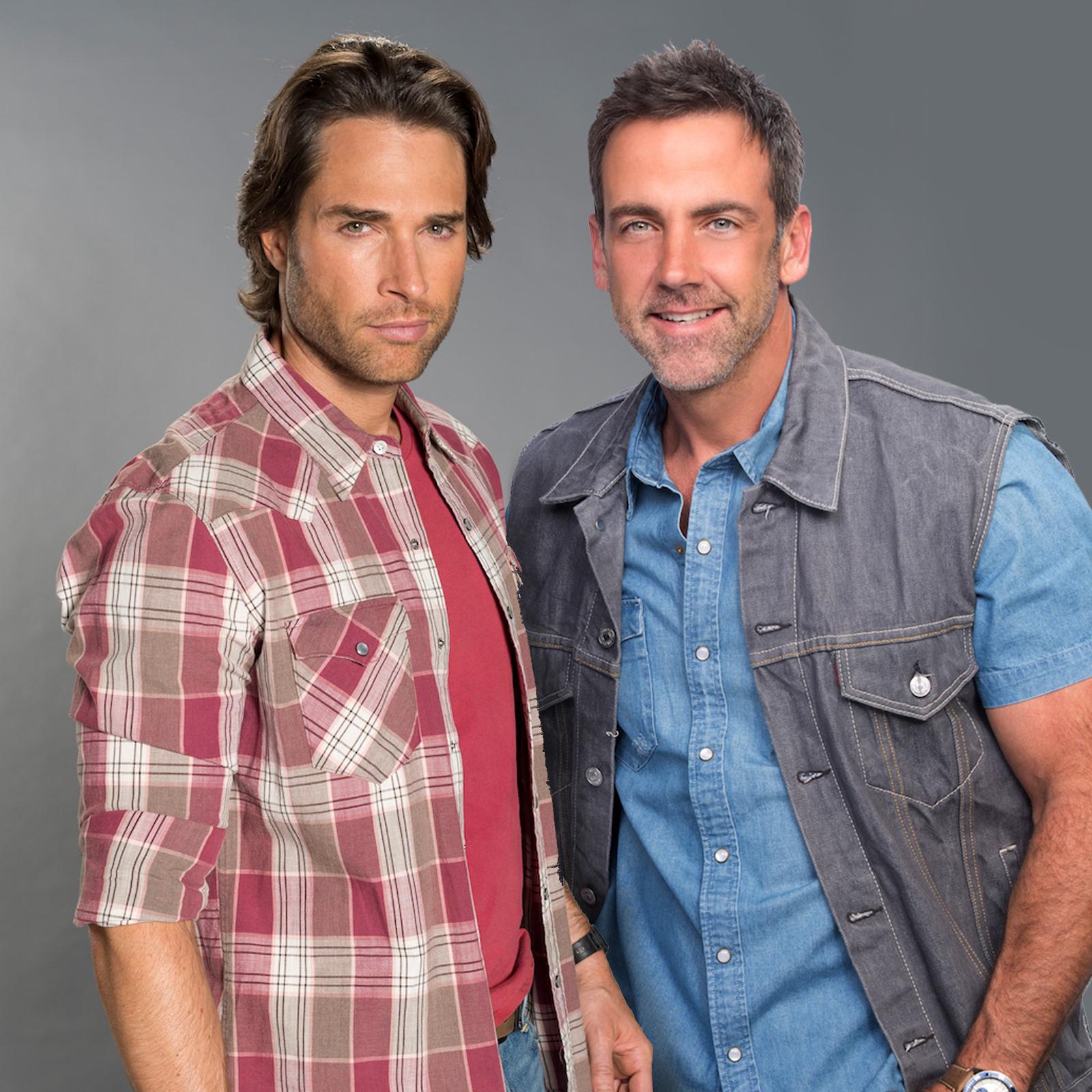 Sebastian Rulli y Carlos Ponce