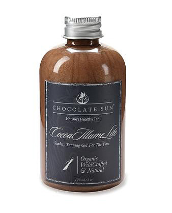 Cocoa Illume Lite Sunless Tanning Face Gel, de Chocolate Sun.