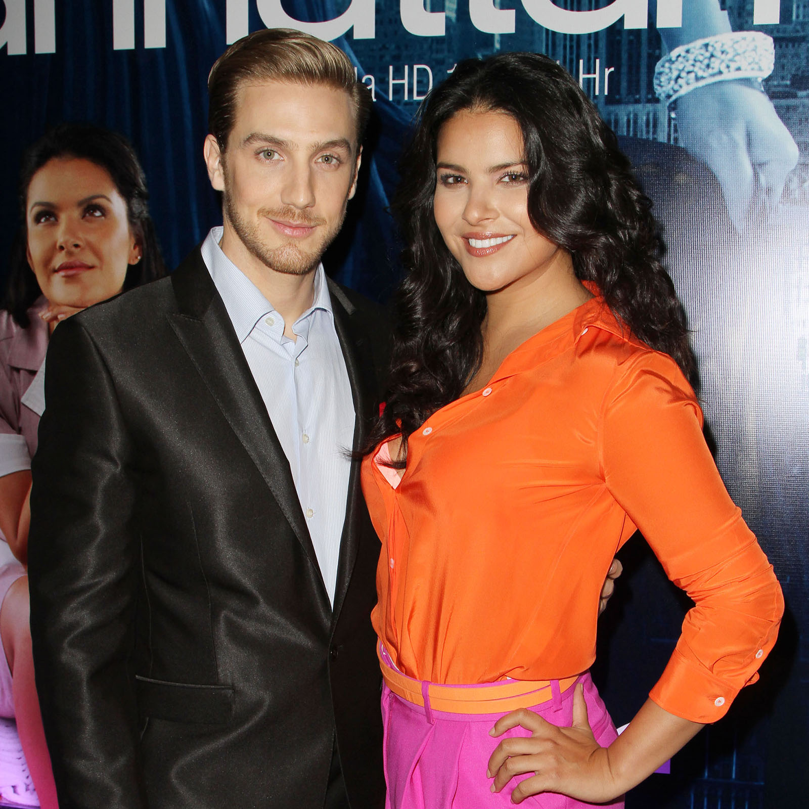 Eugenio Siller and Litzy