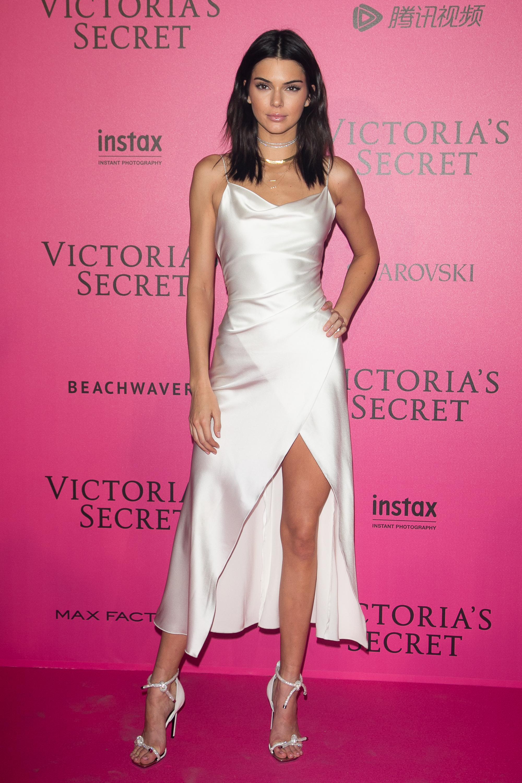 Kendall Jenner en el after party de Victoria's Secret