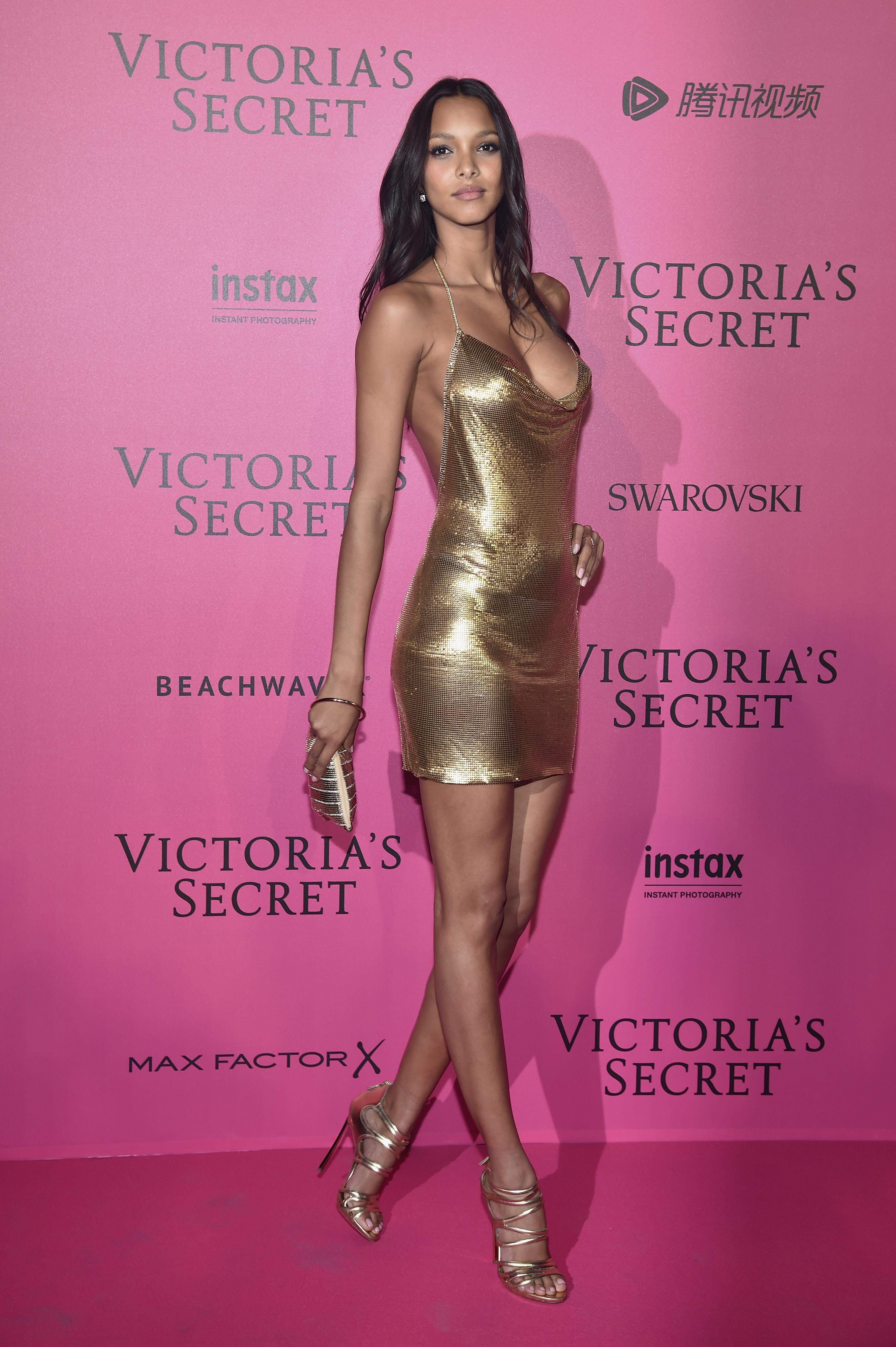 Lais Ribeiro en el after party de Victoria's Secret
