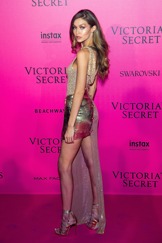 Gigi Hadid en el after party de Victoria's Secret