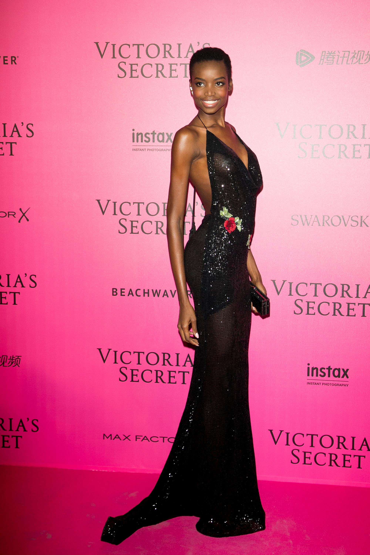 Maria Borges en el after party de Victoria's Secret