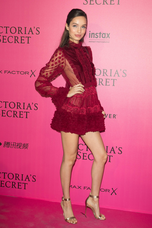 Luma Grothe en el after party de Victoria's Secret